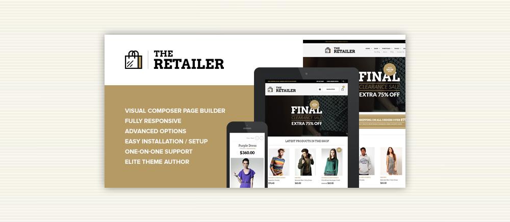 Creare Ecommerce: Tema The Retailer