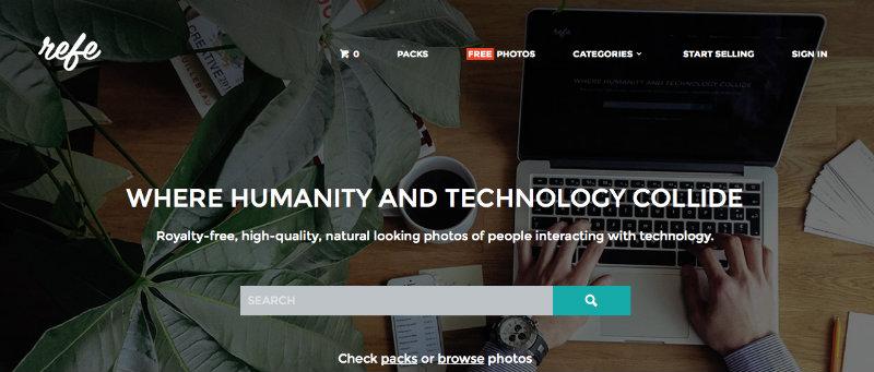 Refe per trovare immagini online