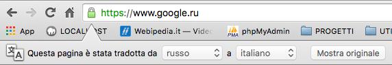 Traduttore automatico Google