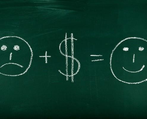 denaro felicità