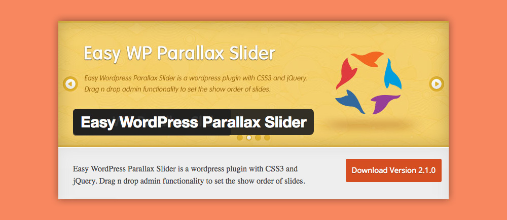 Slider WordPress: Easy WP Parallax Slider