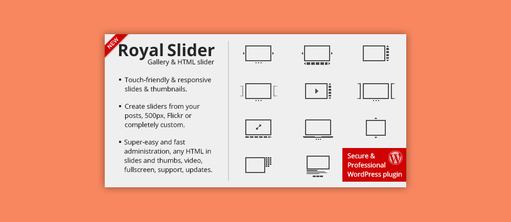 Slider WordPress: Royal Slider