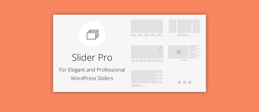 Slider WordPress: Slider Pro
