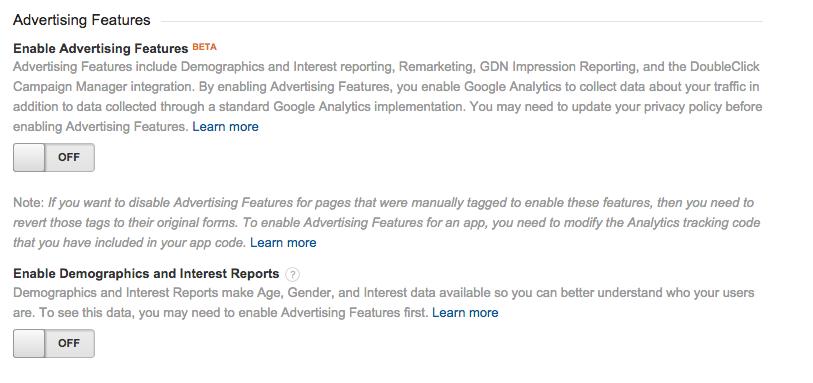 google analytics cookie law