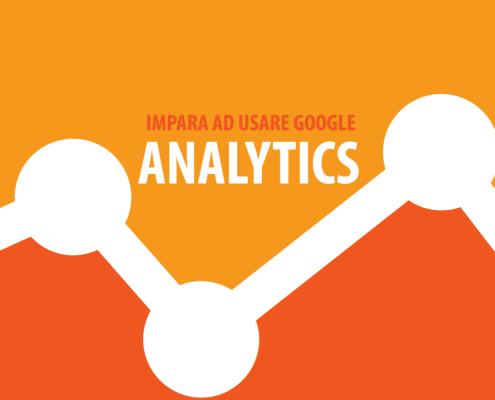 Impara ad usare google analytics