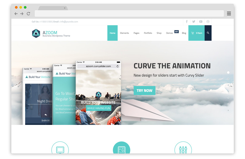 azoom tema business wordpress