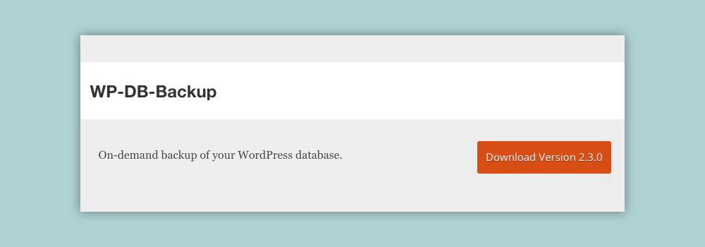 backup-plugin-wordpress-wp-db-backup