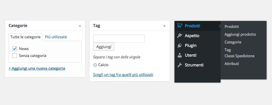 categorie tag wordpress