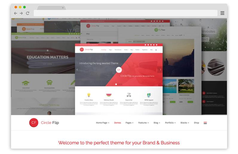 circleflip tema per business