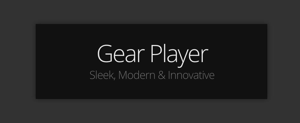 Come aggiungere un Audio Player al tuo blog: Gear Player