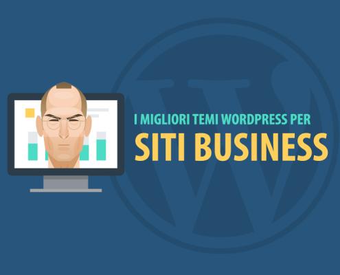 migliori temi wordpress per business