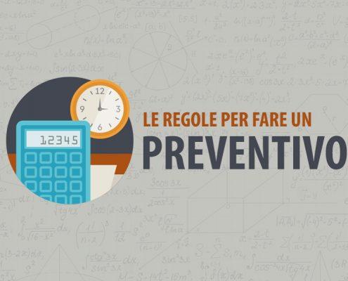 regole per fare un preventivo