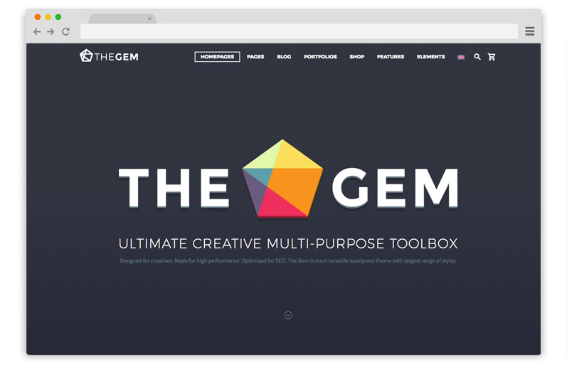 the gem wordpress business tema