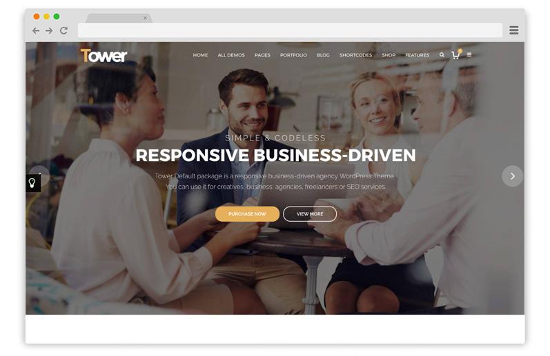tower temi business wordpress