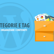 categorie e tag wordpress