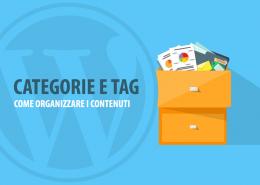 categorie e tag wordpress