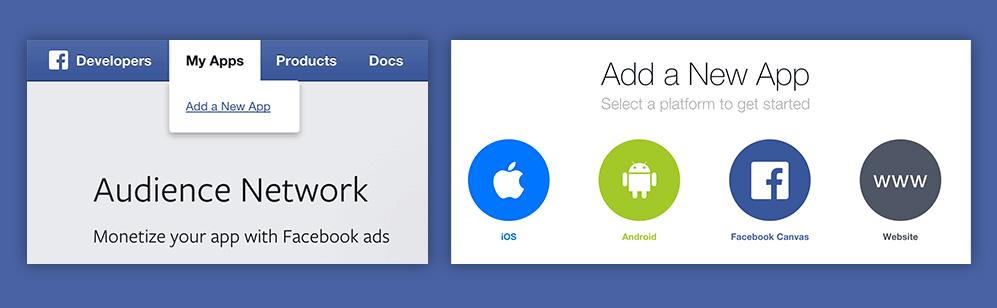 Creare una facebook app