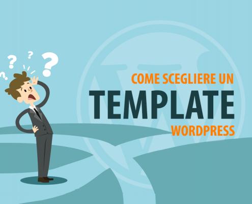 come scegliere un template wordpress