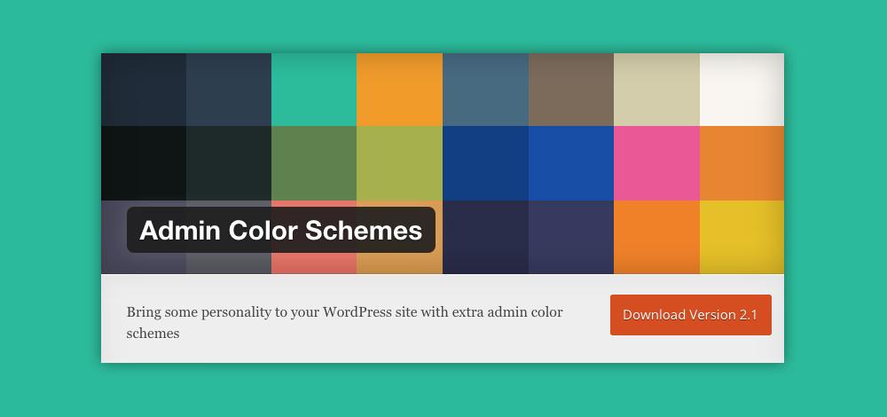 Come cambiare aspetto pannello admin WordPress: admin color schemes