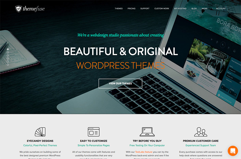 Temi WordPress Themefuse
