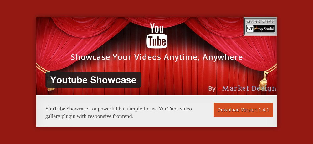 Wordpress video gallery: Youtube showcase