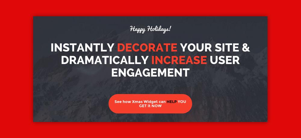 Widget WordPress Natale: Xmas widget