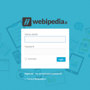 pagina login wordpress
