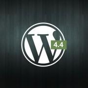 WordPress 4.4