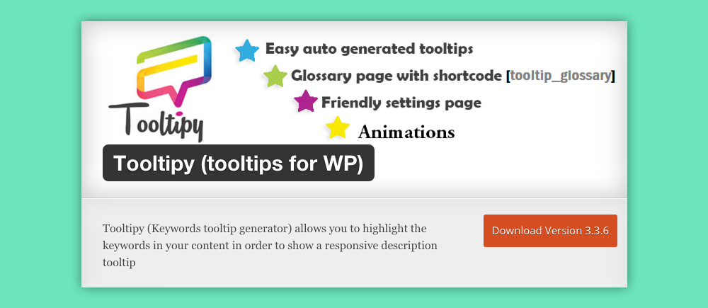 Come inserire Tooltip e Footnote in WordPress: Tooltipy