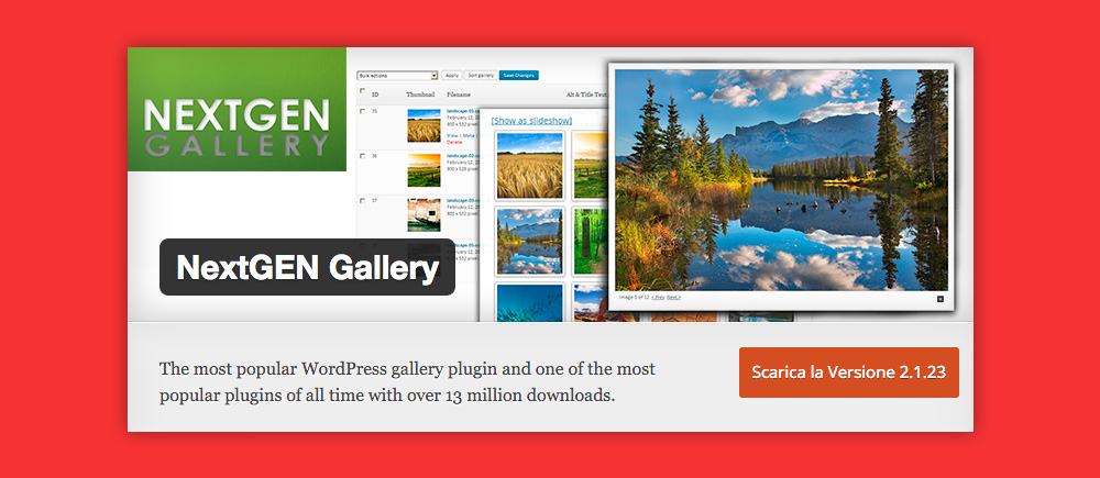 Come inserire Gallery WordPress: Nextgen Gallery