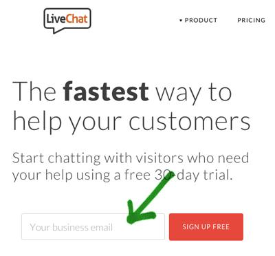 Chat WordPress: Live chat Iscrizione