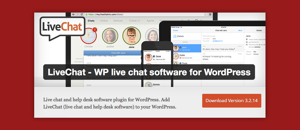 livechat plugin wordpress