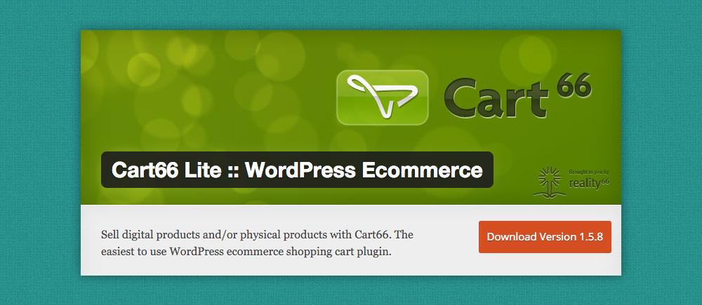 Plugin eCommerce WordPress: cart66