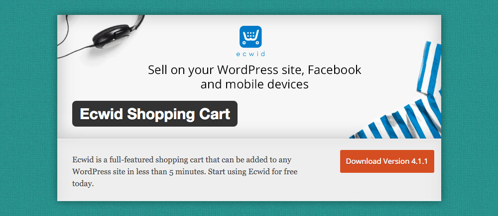 Plugin eCommerce WordPress: ecwid