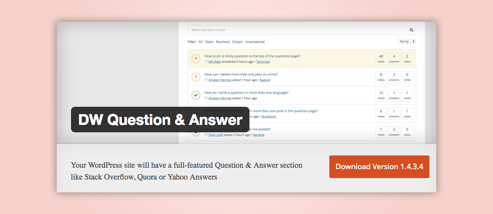 Forum WordPress: DW Question & Answer