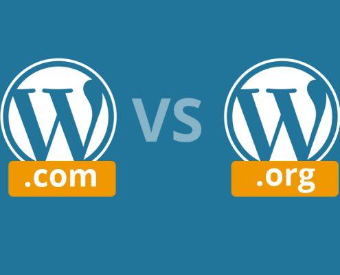 Differenze fra wordpress.com e wordpress.org