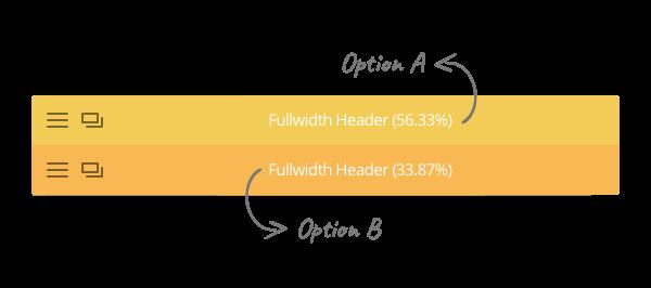 A/B Split Test, opzioni