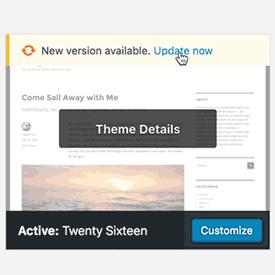 WordPress 4.6 - Temi