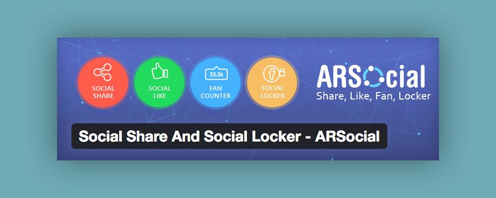 Aumentare Follower: Social Share Social locker