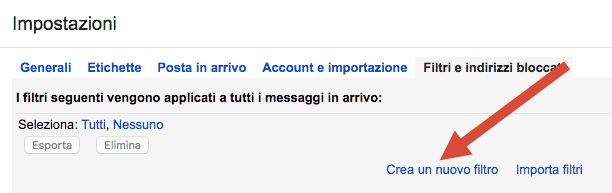 Gmail filtri