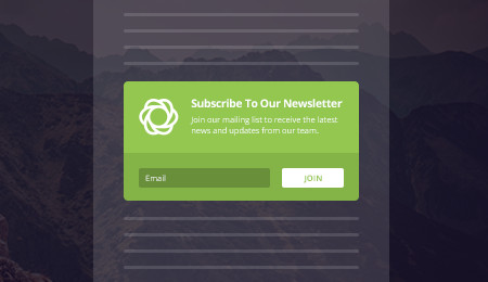 Bloom email optin: inline