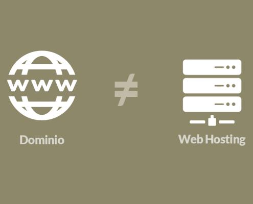 dominio hosting cosa sono e differenze
