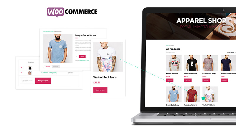 Tema The Core: WooCommerce