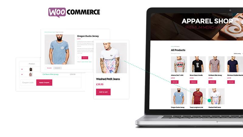 Tema The Core: WooCommerce