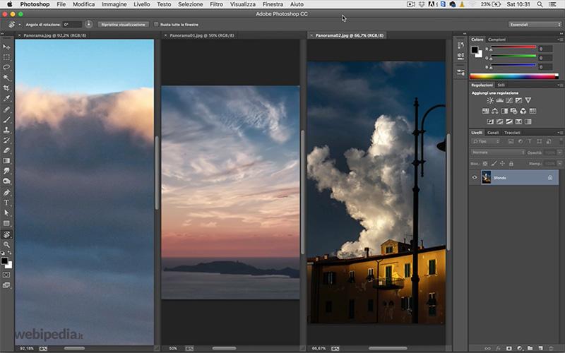 lavorare con le immagini