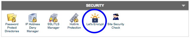 Security Let's Encrypt