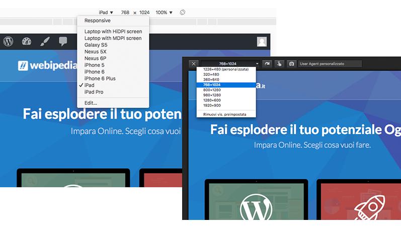 Browser Responsive Simulatore
