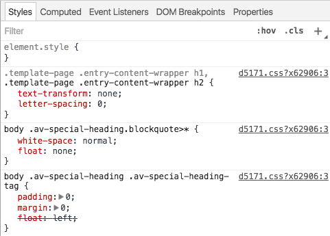 CSS Elemento HTML