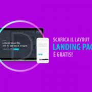 layout landing page divi gratis