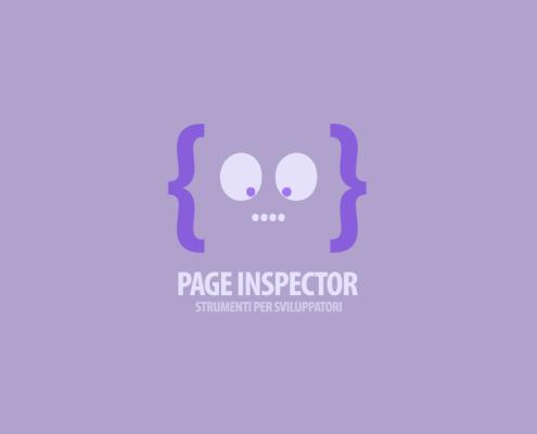 Strumenti per Sviluppatori - Page Inspector
